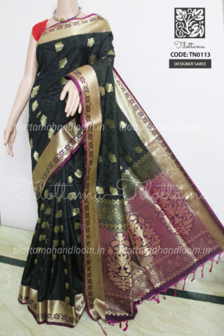 Banarasi Soft Silk Saree, Banarasi silk saree, soft silk saree, tissu banarasi saree, banarasi saree, silk saree, black saree, black saree, golden saree